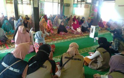 Kegiatan Sosialisasi di Kecamatan Batu Benawa