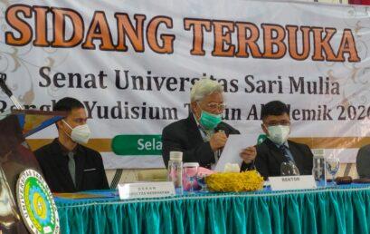 UNISM- Yudisium di Fakultas Kesehatan pada Semester Ganjil TA 2020/2021