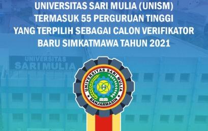UNISM Termasuk dalam 55 PT yang Terpilih sebagai Verifikator Baru Simkatmawa 2021