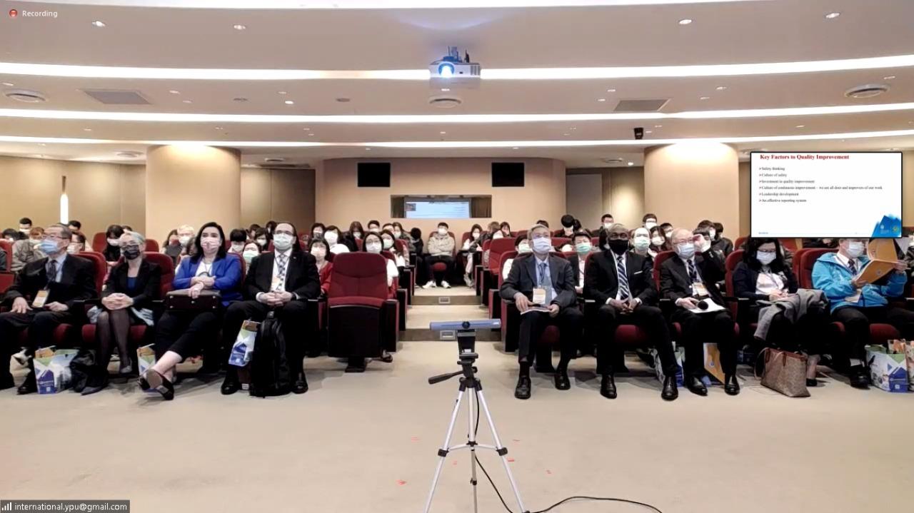 Kolaborasi Dosen dan Mahasiswa di Fakultas Kesehatan dalam Kegiatan Student Academic Conference Yuanpei University of Medical Technology