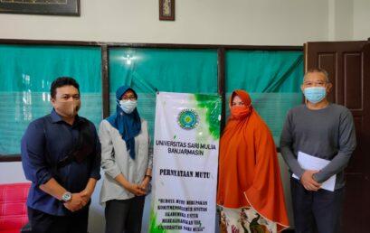 UNISM Menjalin Kerjasama Dengan Balai Litbangkes Tanah Bumbu