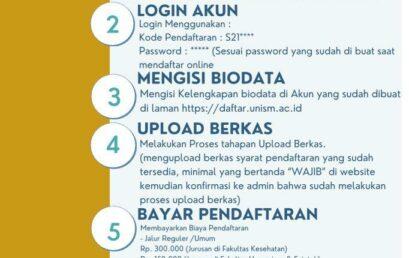 Daftar dan Tes Online, Mempermudah Camaba
