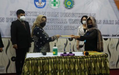 Pelantikan Rektor Universitas Sari Mulia Periode Tahun 2021-2025