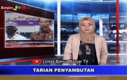 MAHASISWA PAPUA DI BANJARMASIN DUKUNG SUKSESNYA PELAKSANAAN PON XX